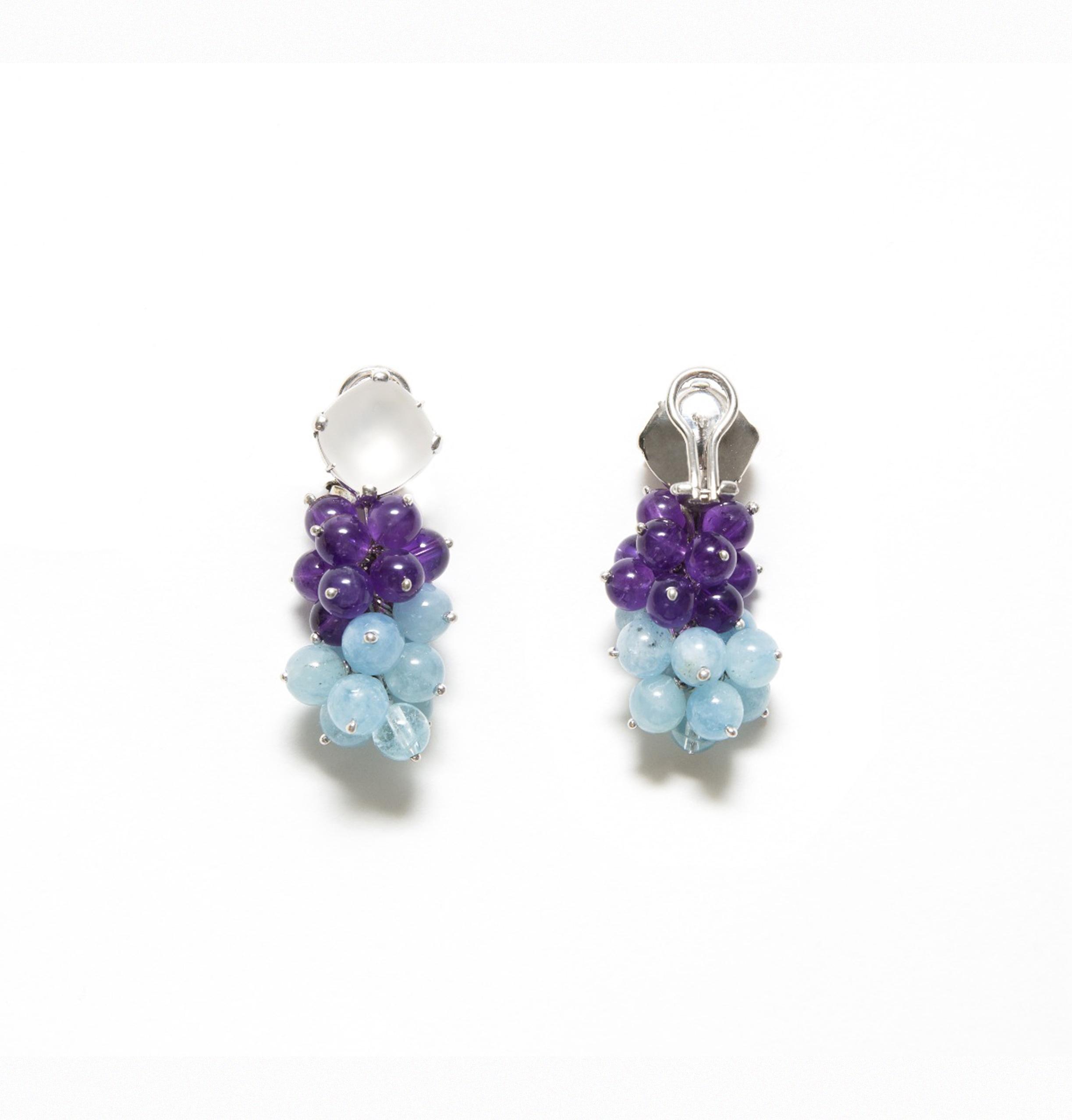 925 Silver pendant earrings